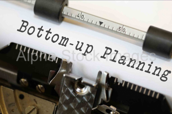 Bottom-up Planning