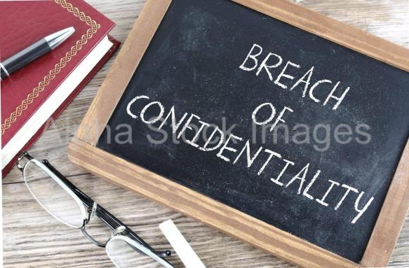 breach of confidentiality 1