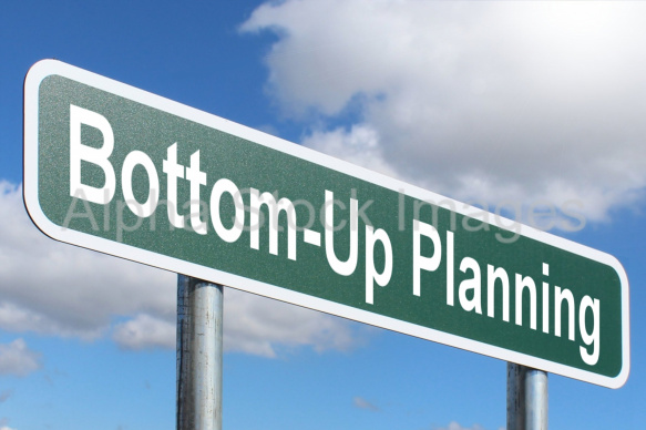 Bottom-Up Planning