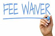 fee waiver